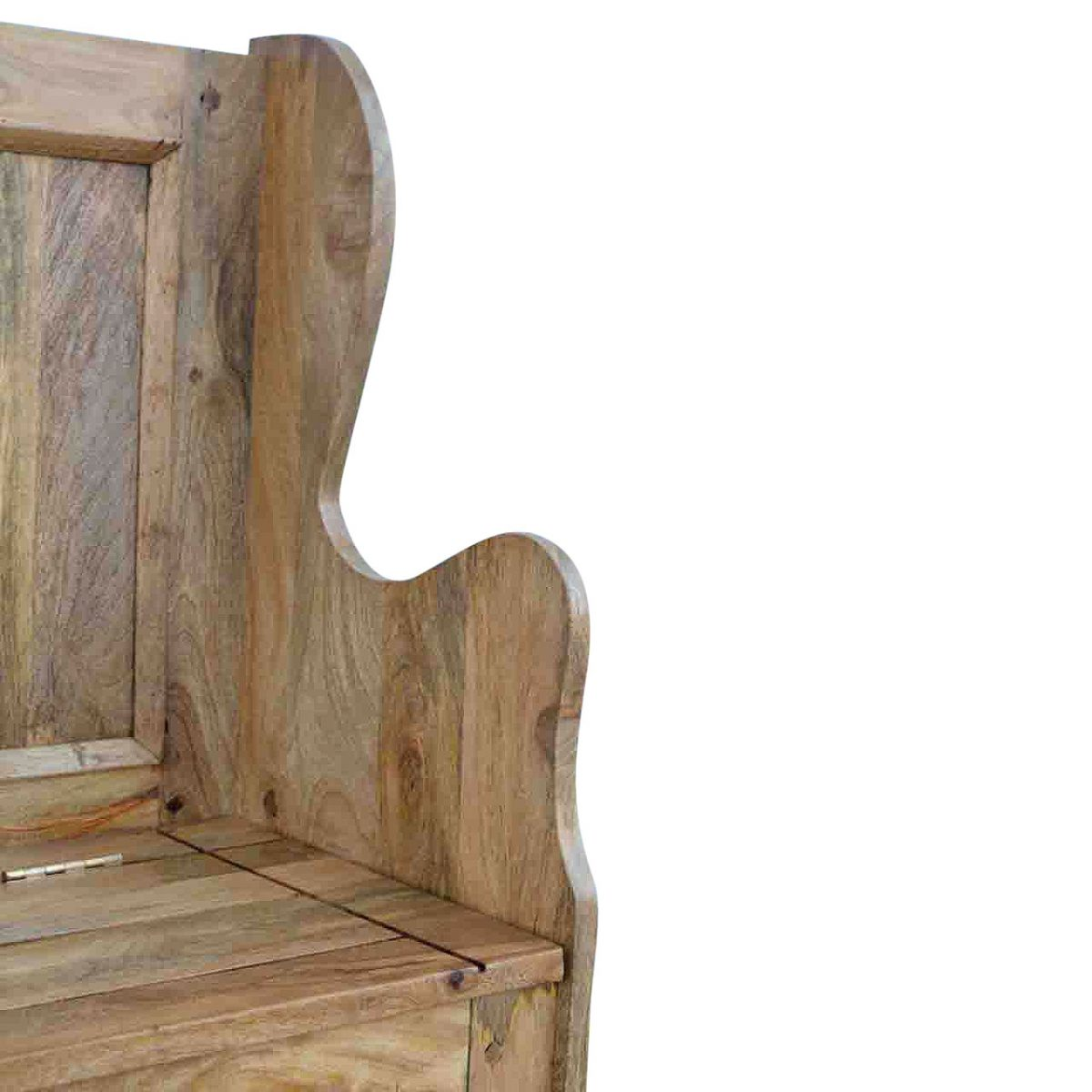 Marvelous Solid Oak Finished Mango Wood Hall Storage Bench Monks Bench Available 4Th November Furniture 4 Life Uwap Interior Chair Design Uwaporg
